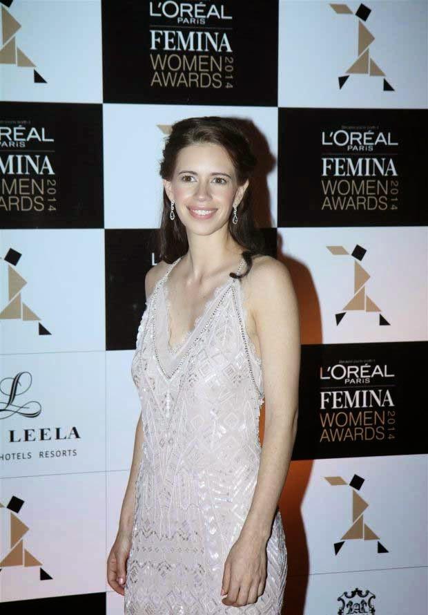 kalki koechlin at L'Oreal Paris Femina Women Awards 2014