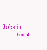 Jobs in Punjab