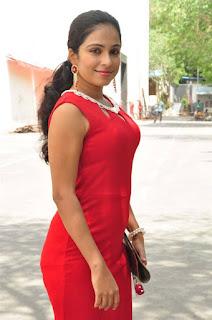 Vrushali Gosavi Stills At Vaadu Nenu Kadhu Movie Launch 9.jpg