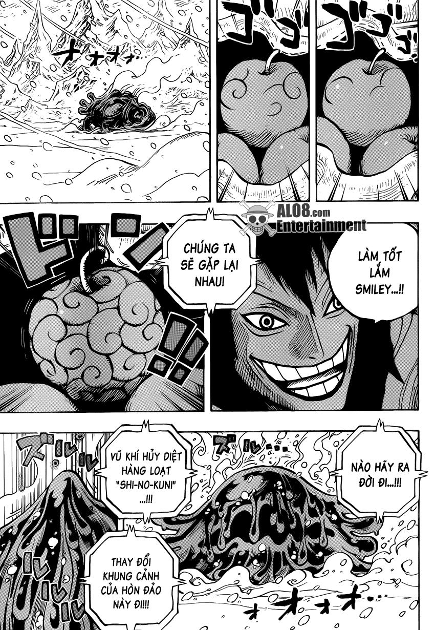 One Piece Chapter 676: Vũ khí hủy diệt hàng loạt 007