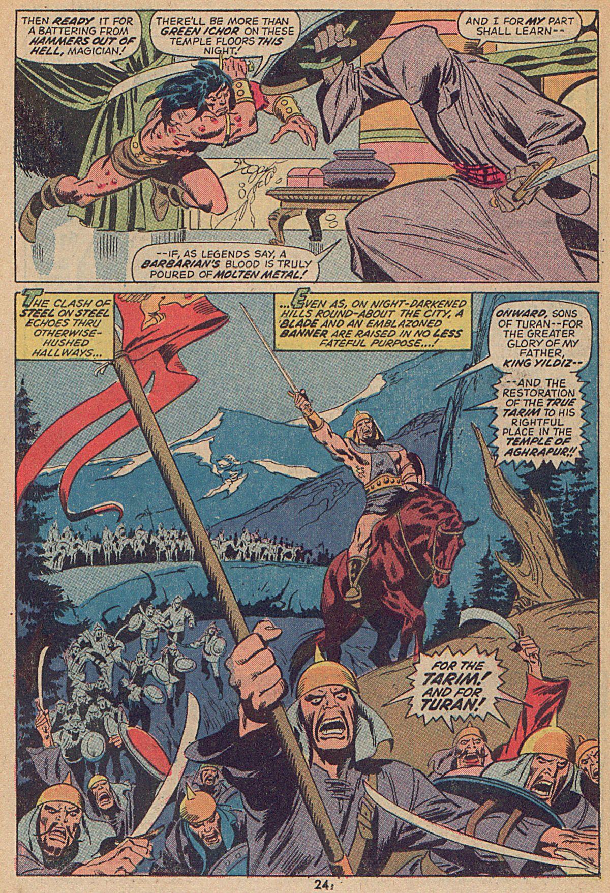 Conan the Barbarian (1970) Issue #25 #37 - English 18