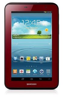Galaxy Tab 2 Dengan Warna Merah Edisi Valentine
