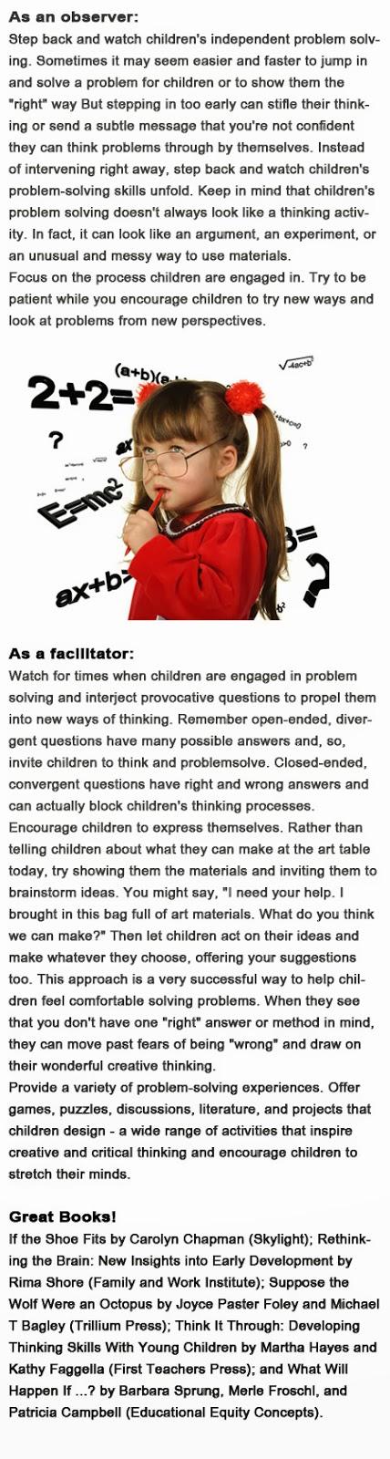 Problem solving games for kids