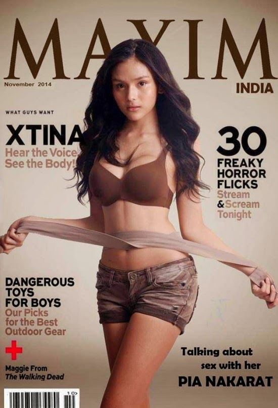 Pia Nakarat Sizzles On Maxim India Magazine November 2014