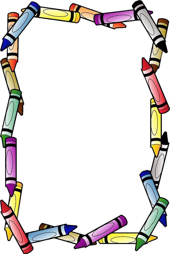 Marcos escolares o bordes ~ Rayito de Colores