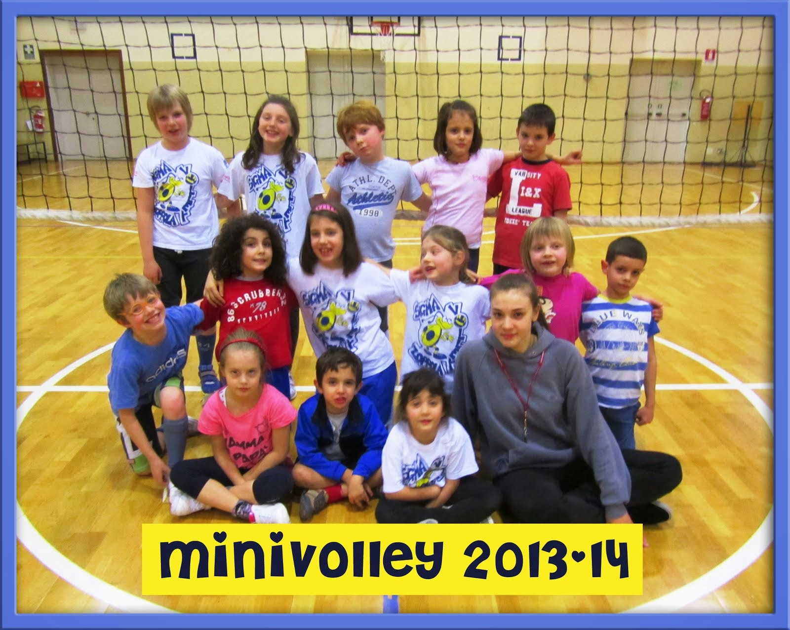MINIVOLLEY 2013/14