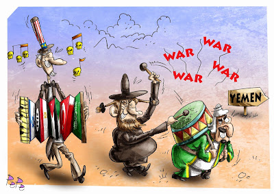 Saudi-America War On Yemen