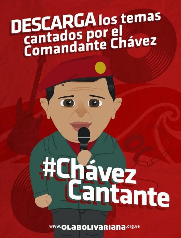 DESCARGA y pon a sonar todas las canciones de #ChavezCantante