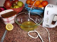 ingredientes para montar claras