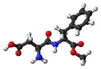 molécule d'aspartame