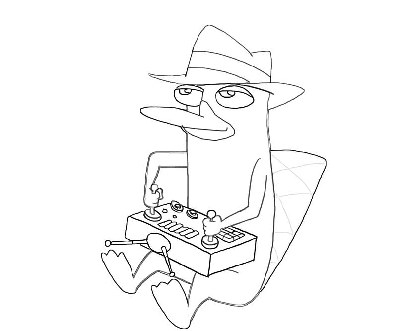 printable-perry-the-platypus-control-coloring-pages