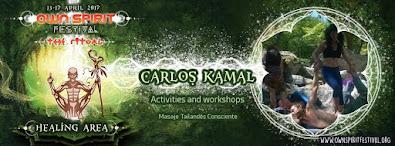 Abril, estaremos en el festival con tallers de yoga parejas, acro yoga y masaje tailandés conscient
