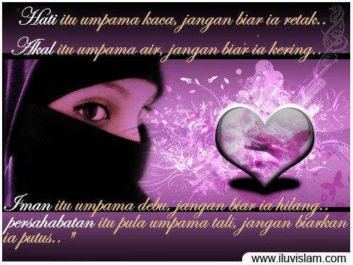 wanita muslimah: KATA-KATA BIJAK WANITA MUSLIMAH