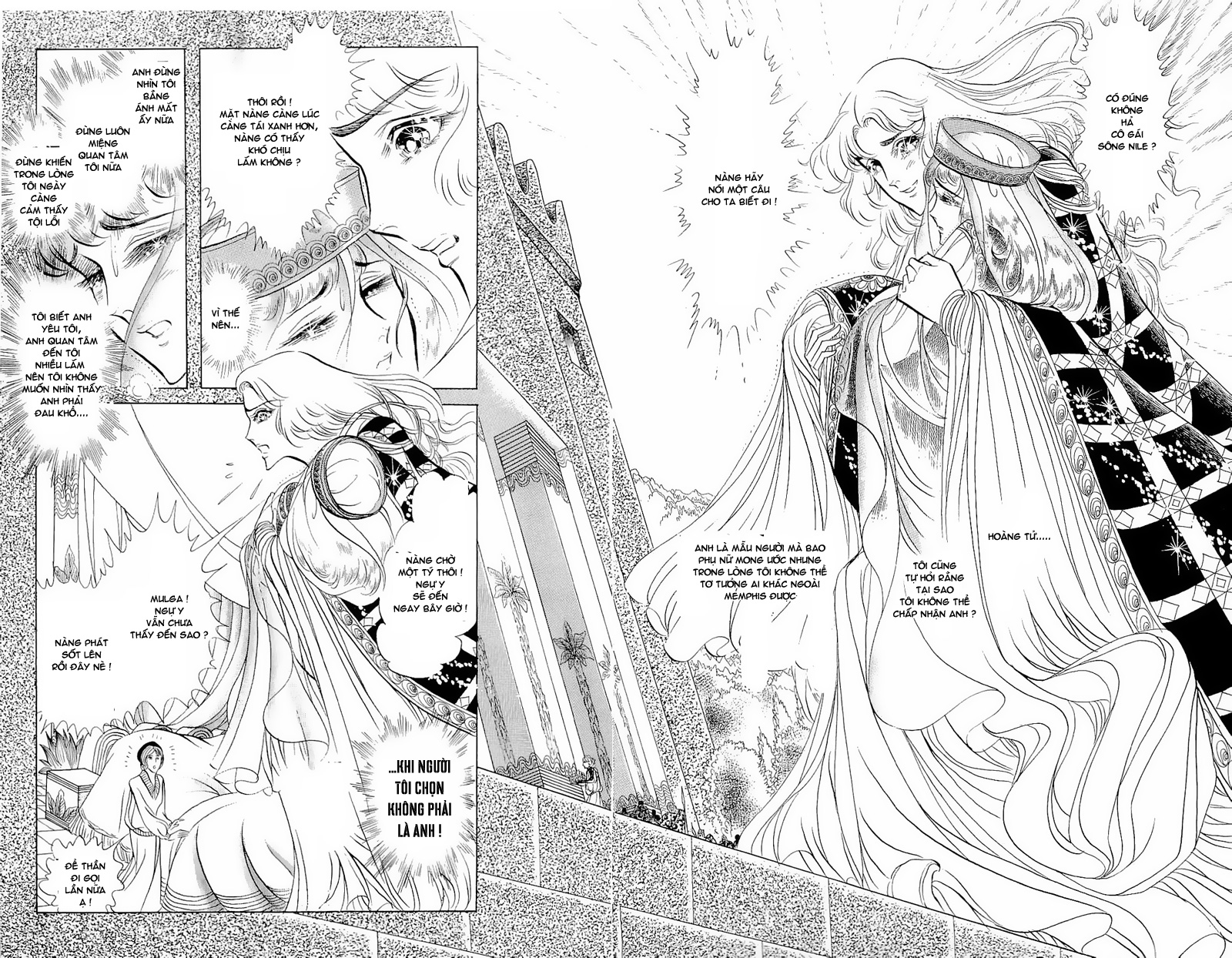 Nữ Hoàng Ai Cập-Ouke no Monshou chap 54 Trang 24 - Mangak.info
