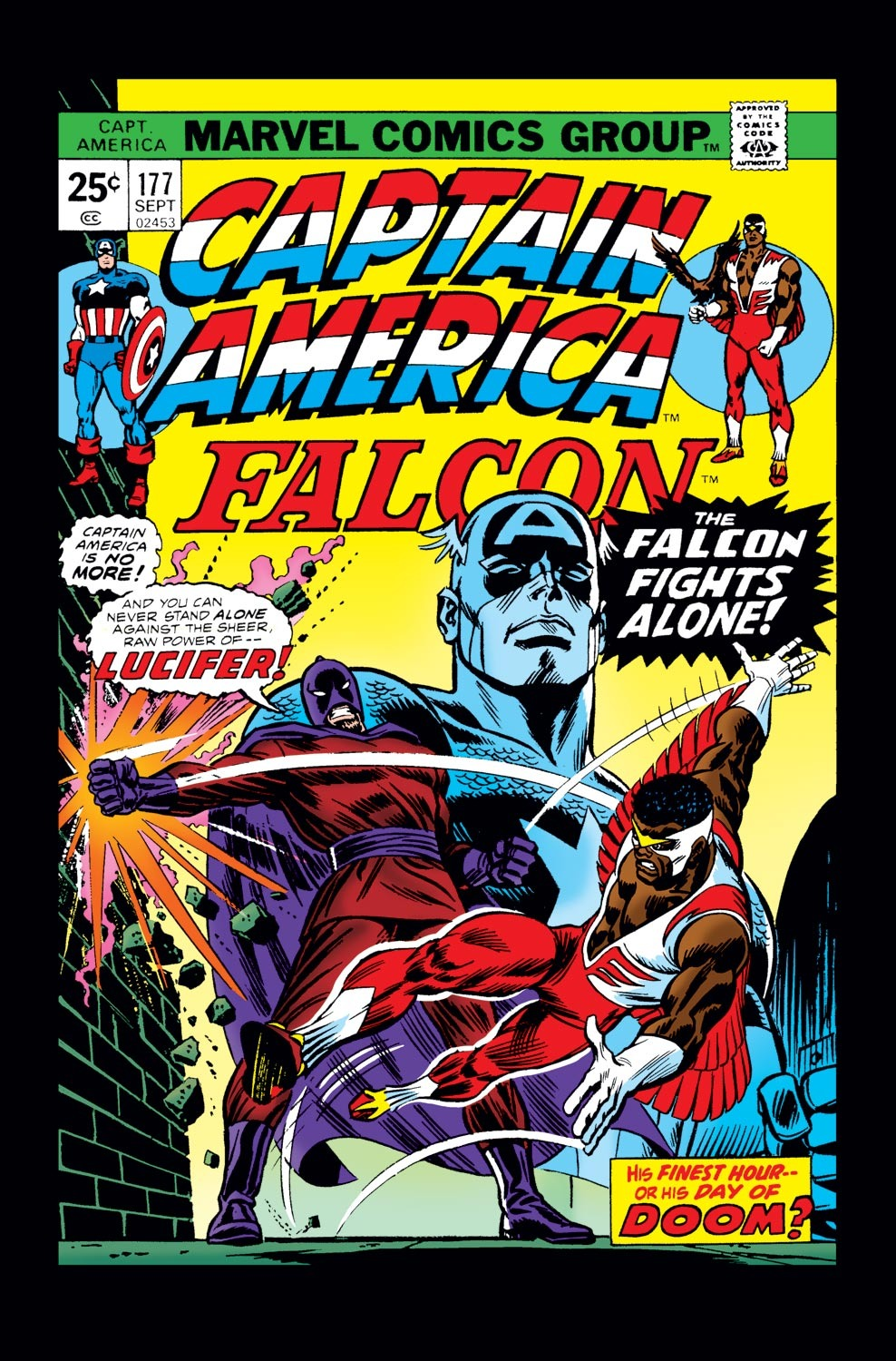 Captain America (1968) Issue #177 #91 - English 1