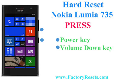 Hard Reset Nokia Lumia 735
