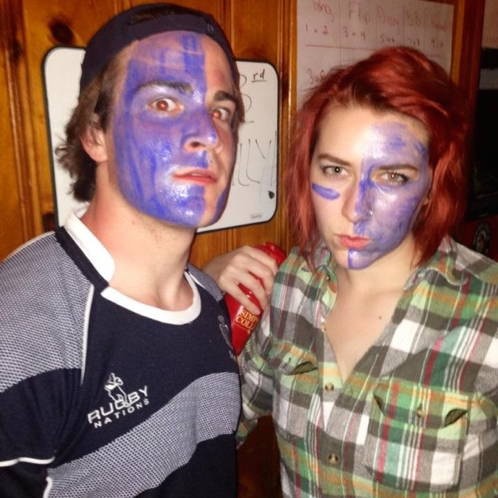 Scotland Beer Olympics Had a Beer Olympics-themed