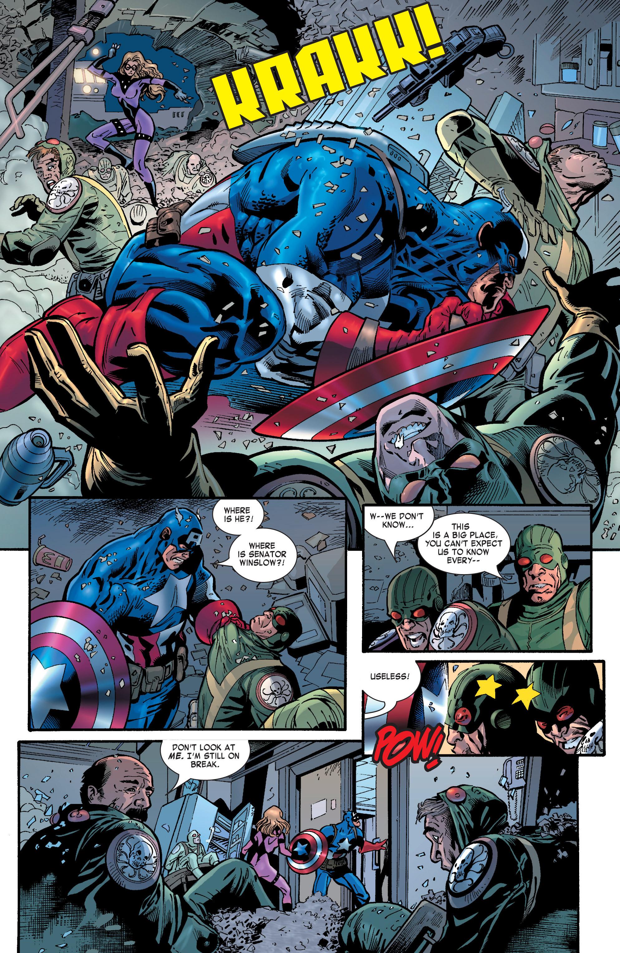 Captain America (2002) Issue #29 #30 - English 16