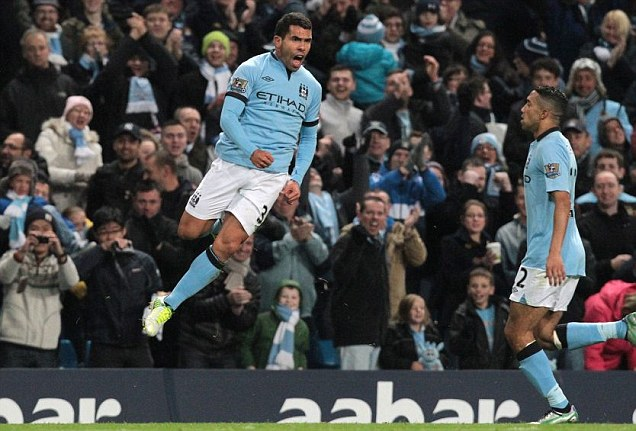 Hasil Pertandingan Manchester City vs Swansea 1-0, 27 Okt 2012