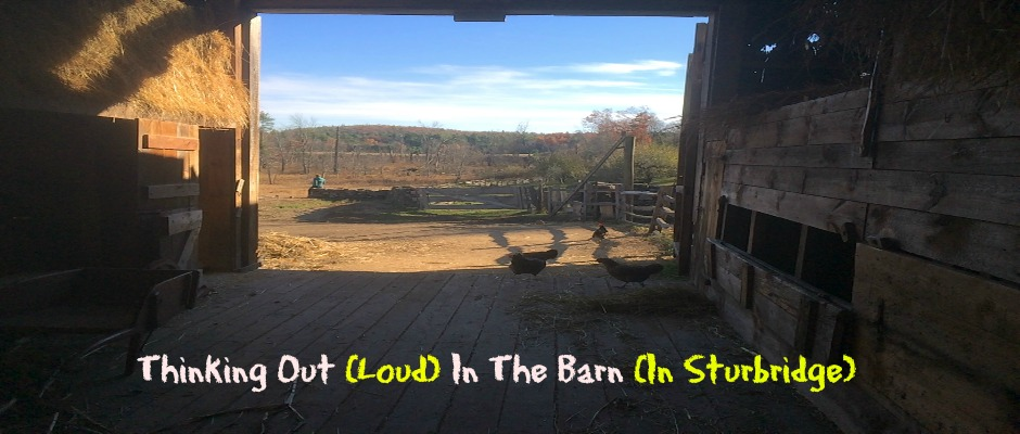 Thinking Out Loud In Sturbridge