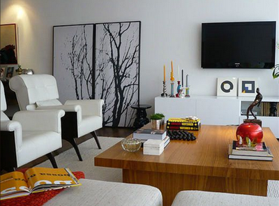 Fotos e dicas de casas decoradas modernas for Casas pequenas por dentro