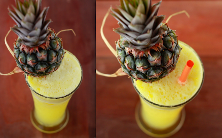 American Welcome Drink (Pineapple-Ginger Cocktail) by SeasonWithSpice.com