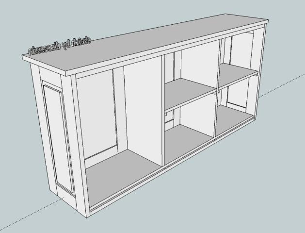 Perabot kayu sederhana simply wood furniture lemari for Buat kitchen set sendiri