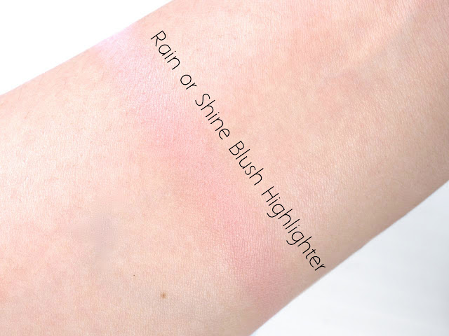 Burberry Spring & Summer 2015 Rain or Shine Blush Highlighter Palette: Review and Swatches