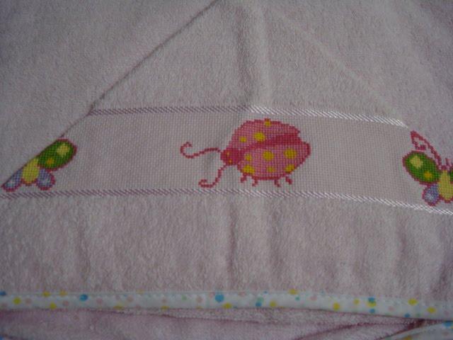 toalha com capuz R$25,00