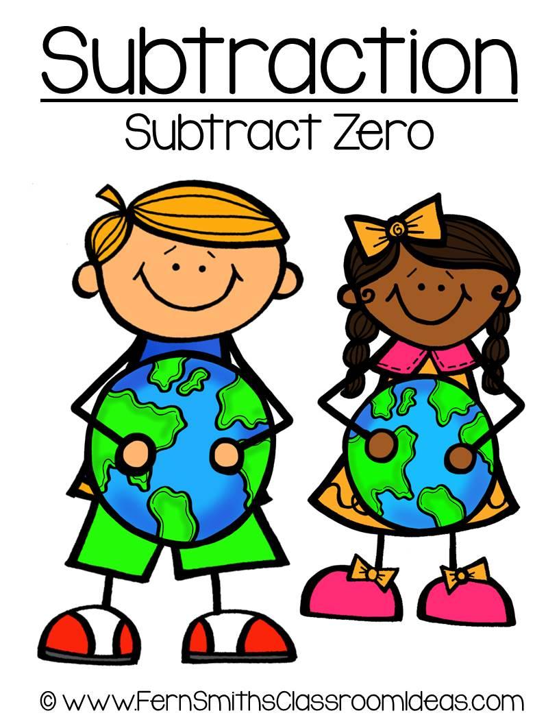Earth Day - Subtract Zero Center Game