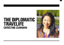 CATCH THE DIPLOMATIC TRAVELIFE COLUMN EVERY SUNDAY IN BUSINESS MIRROR