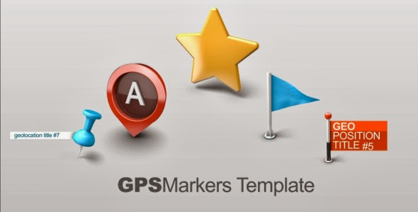 VideoHive Map Markers
