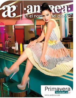 catalogo calzado Andrea cerrado primavera verano 2013