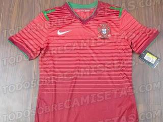 Nova Camisola da Seleção Portuguesa