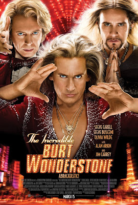 Steve Carell, Burt Wonderstone, Steve Buscemi, Jim Carrey