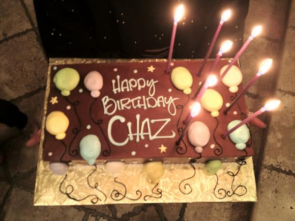Chaz Bono's Birthday Cake