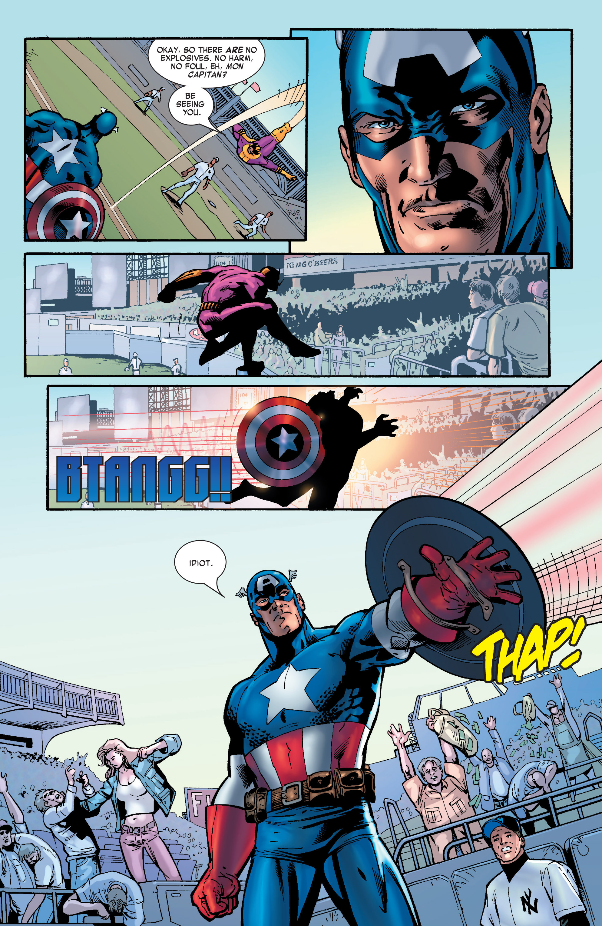 Captain America (2002) Issue #30 #31 - English 9