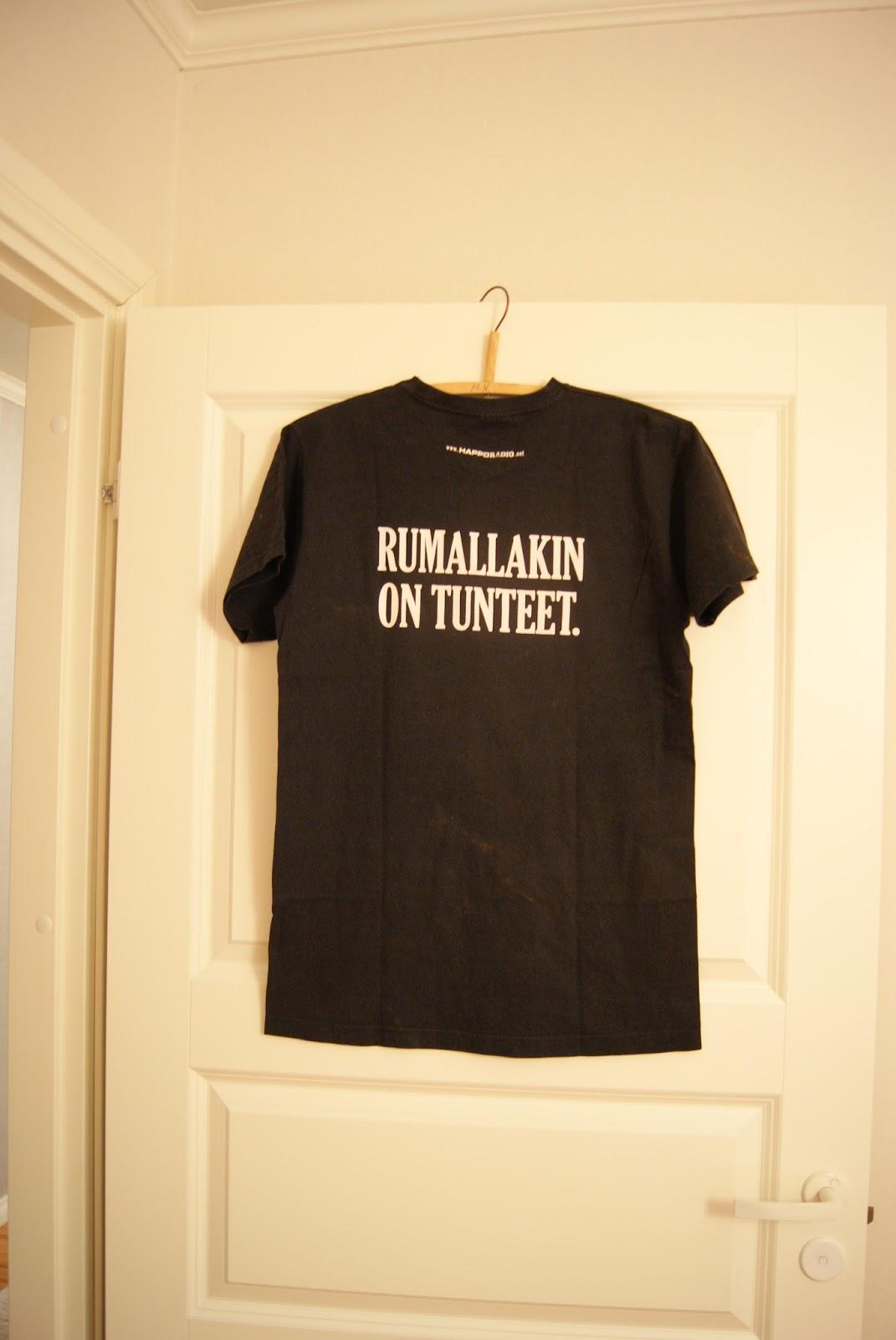 Happoradion t-paita on kulkenut mukanani pitkään 7ce16b01ee