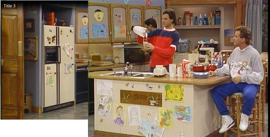 The gallery for full house tv show set for Full set kitchen