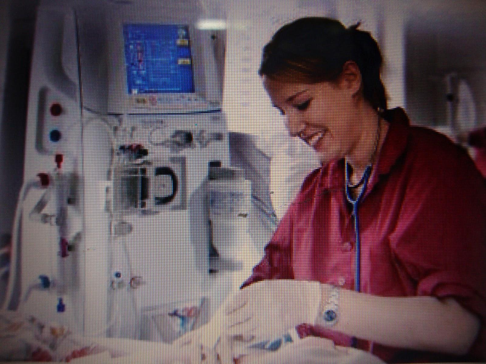 davita dialysis machine setup