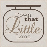 Down That Little Lane