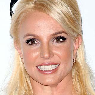Britney Spears feliz.