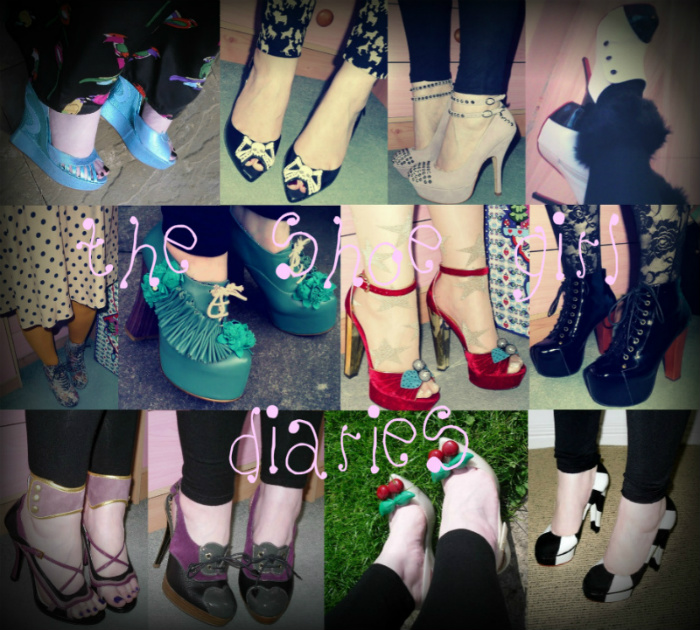 The Shoe Girl Diaries