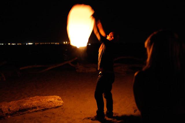 matrimonio easy low cost fibre di luce lanterne volanti