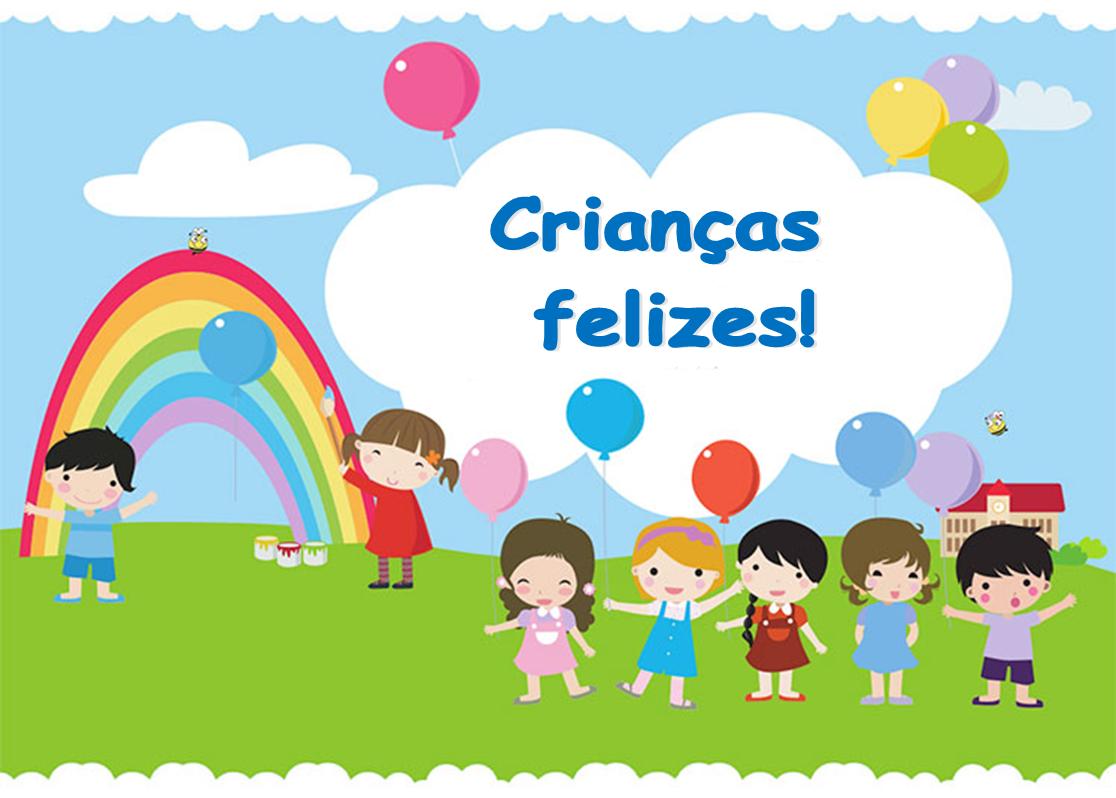Crianças felizes!