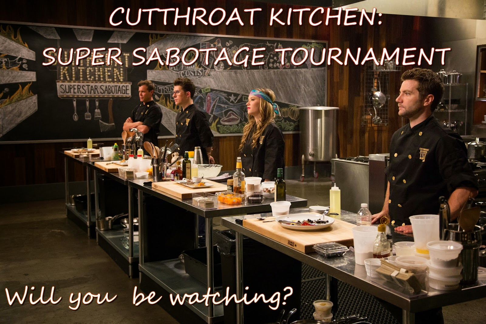 Food Network Hit Cutthroat Kitchen Goes All Star This Fall, With Sixteen  Elite Chefs Competing In The Five Episode Mayhem Filled Cutthroat Kitchen:  ...