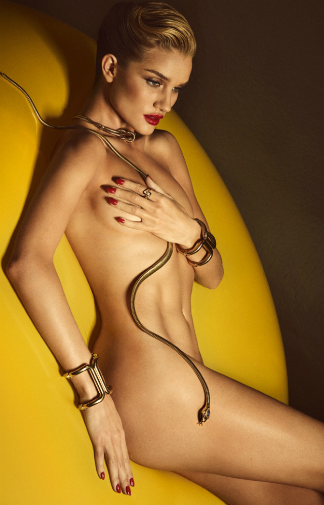 Imagen Rosie Huntington-Whiteley desnuda Lui Magazine