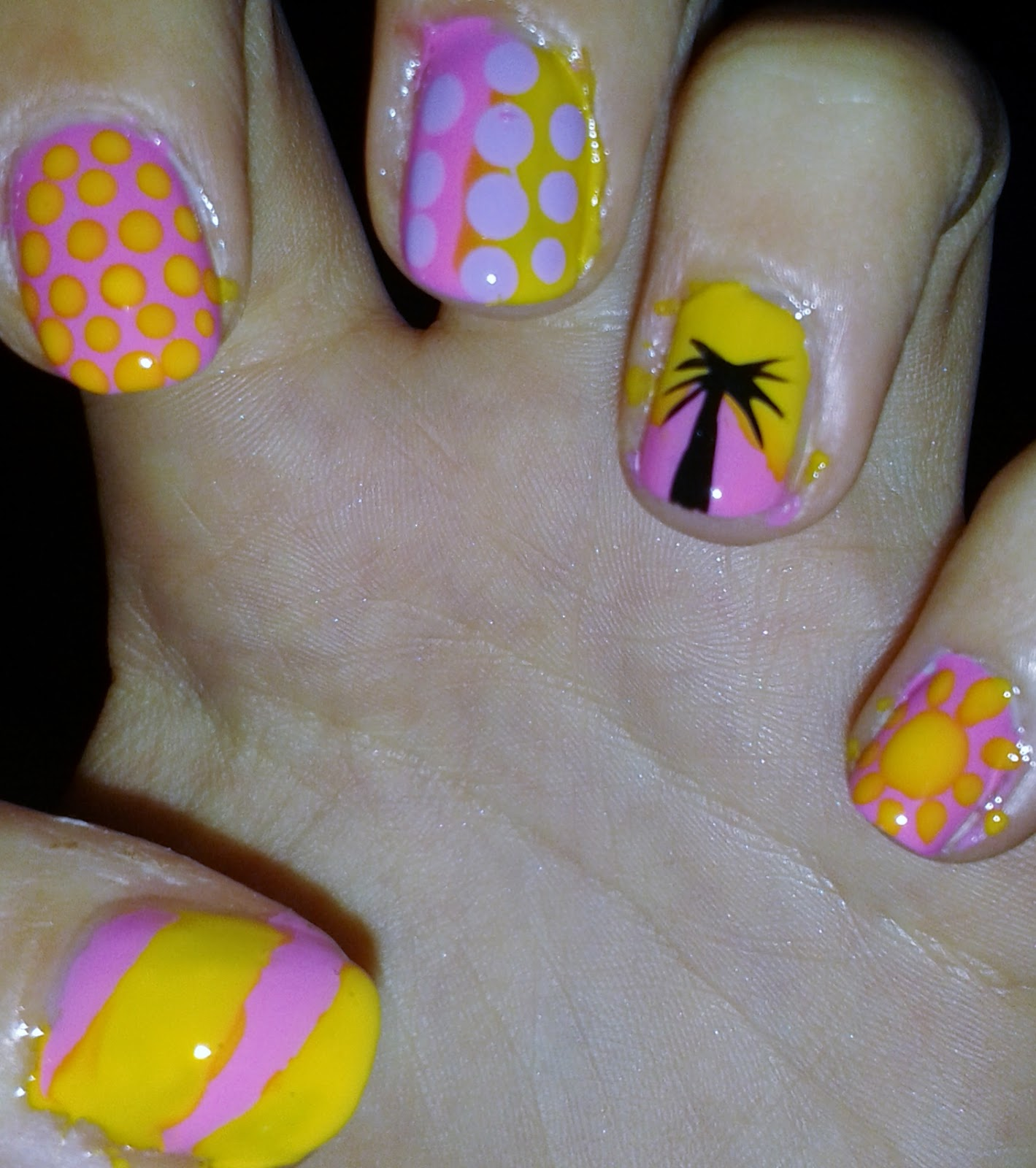 Beccas Life Summer Nail Art For Beginners
