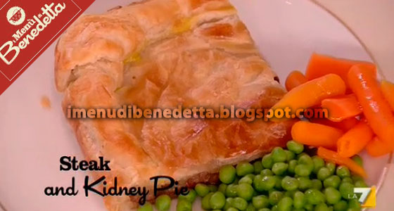 Steak and Kidney Pie di Benedetta Parodi