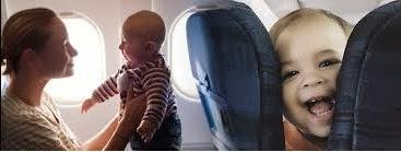 Tips Bayi Naik Pesawat